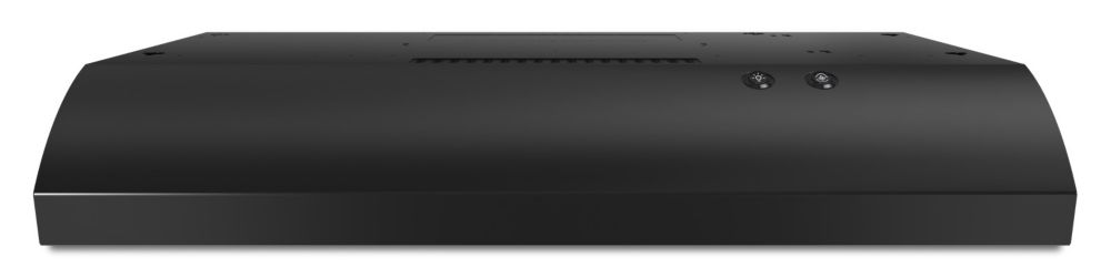 36-inch, 190 CFM Range Hood with FIT System in Black