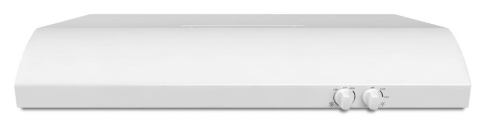 36-inch, 225 CFM Range Hood with FIT System in White