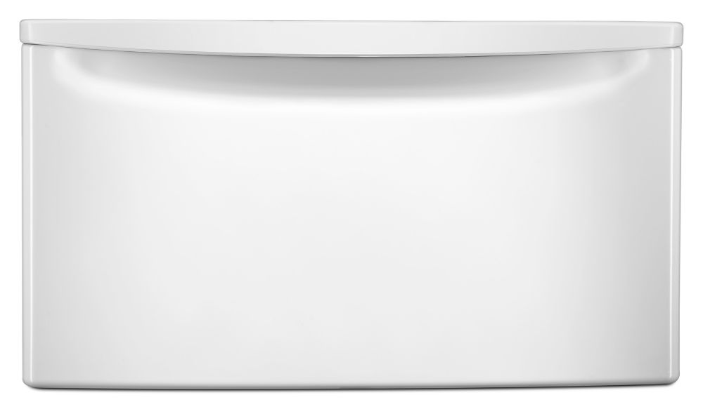 Alpha 15-inch Laundry Pedestal in White