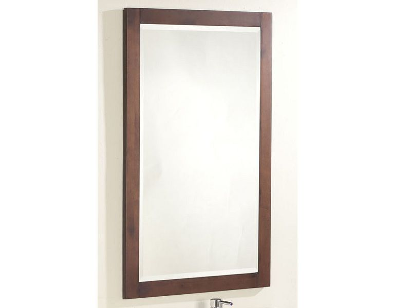 The Linden 25 Inches Mirror in Walnut M-604 Canada Discount