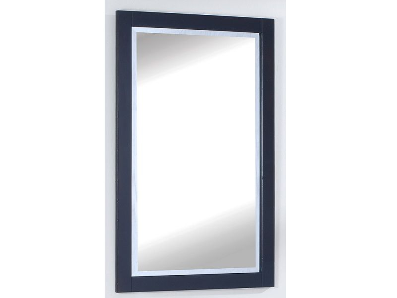 The Titan 25 Inches Mirror in Espresso Brown