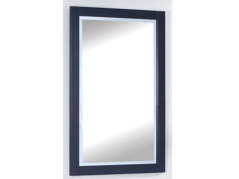 Le miroir TITAN de 25 po en finition marron espresso