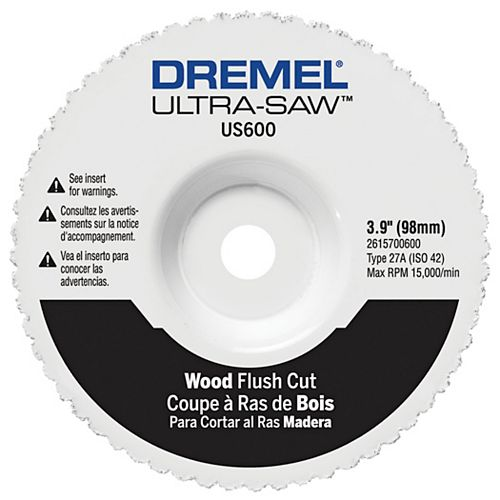 Dremel Wood Flush Cut Wheel