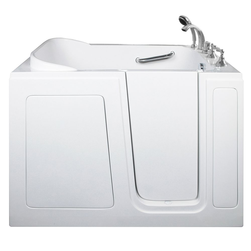 E-Series Soaking 48 Inch. X 30 Inch. Walk In Tub In White With Right Drain E3048SR Canada Discount