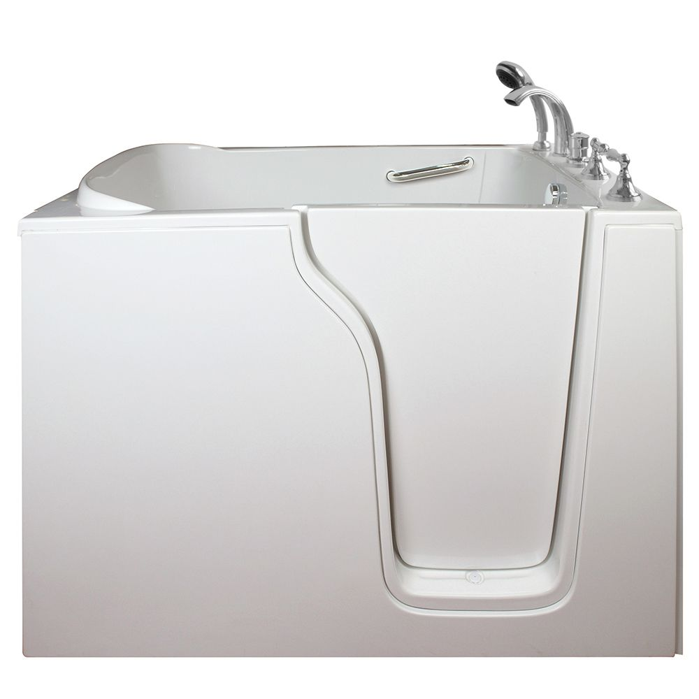 E-Series Dual Massage 55 Inch. X 35 Inch. Walk In Tub In White With Right Drain E3555DR Canada Discount