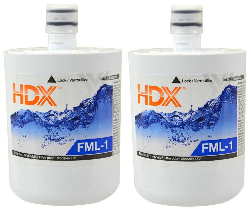 FML-1 Refrigerator Replacement Filter Fits LG LT500P (2 Pack)