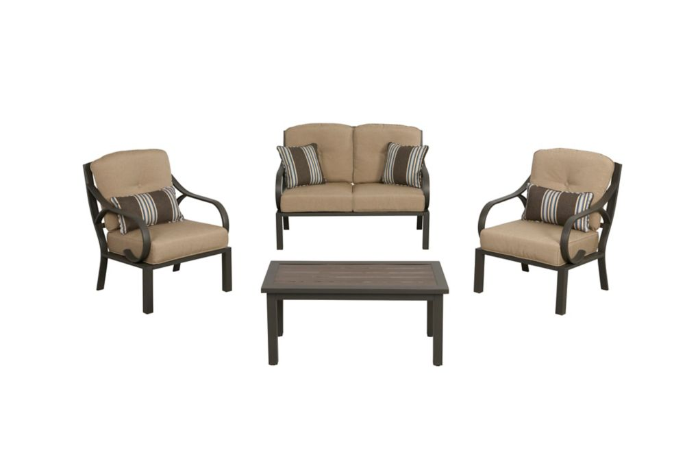 Chestermere 4-piece Outdoor Chat Set