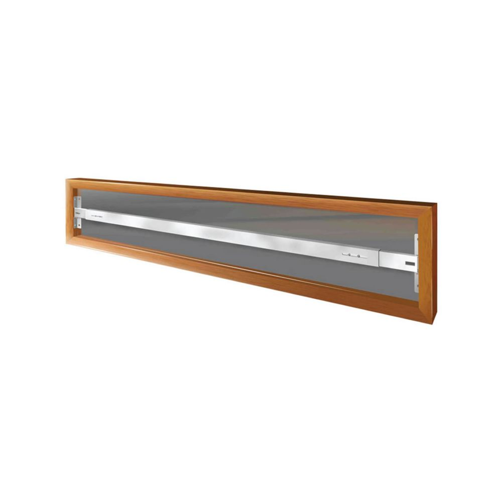101 A 62-inch to 74-inch W Fixed Window Bar