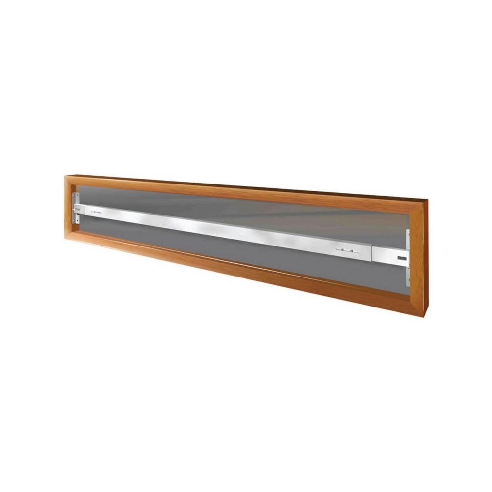 102 A 62-inch to 74-inch W Hinged Window Bar