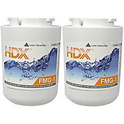HDX FMG-1 Refrigerator Replacement Filter Fits GE MWF (2-Pack)