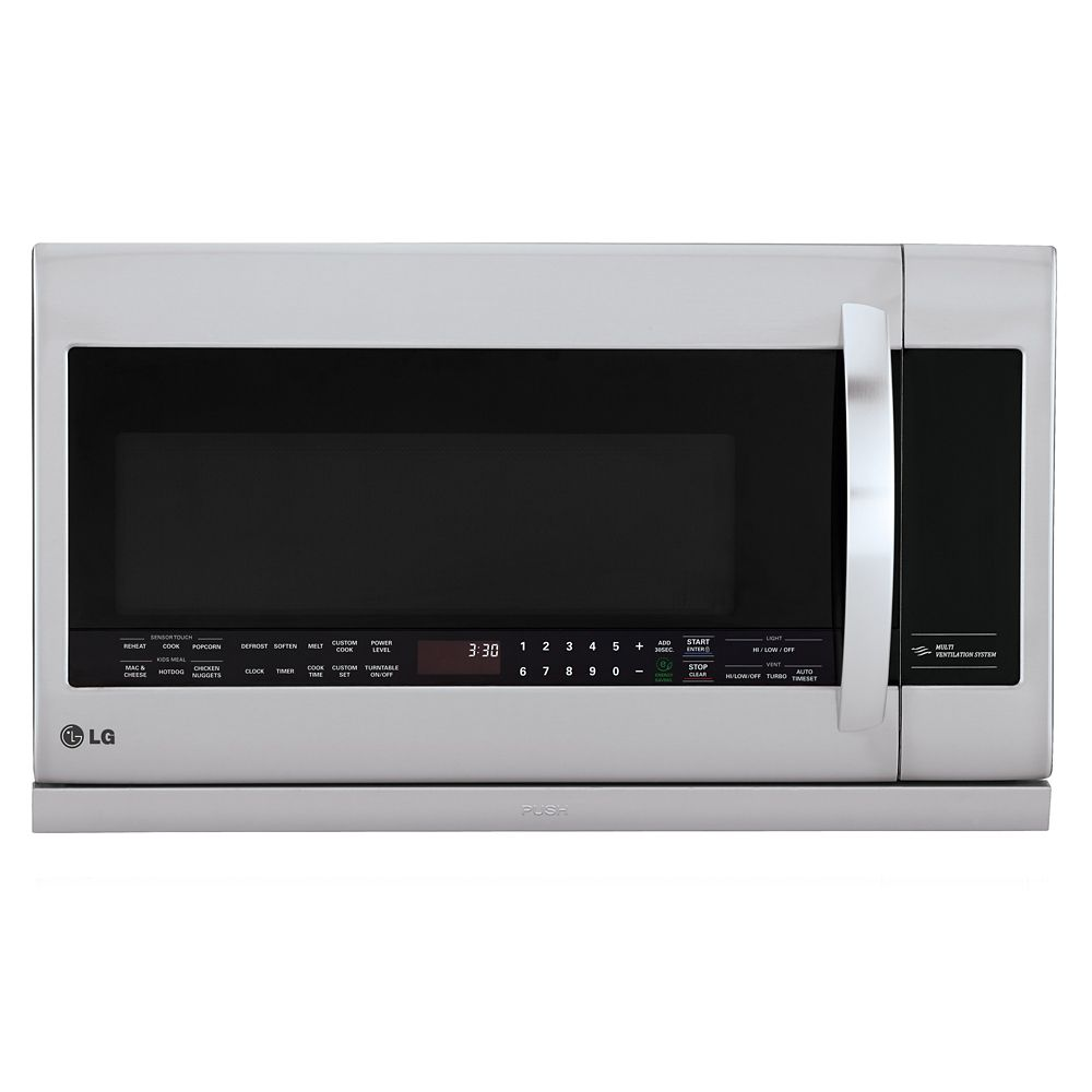 2.2 cu. ft. Over-the-Range Microwave with Slide-out ExtendaVent� in Stainless Steel