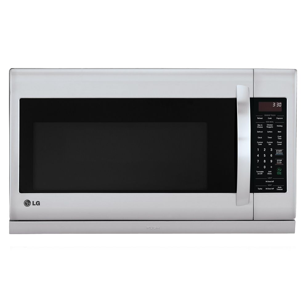 2.0 cu. ft. Over-the-Range Microwave with Slide-out ExtendaVent� in Stainless Steel