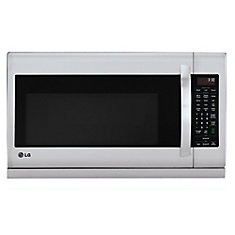 2.0 cu. ft. Over-the-Range Microwave with Slide-out ExtendaVent in Stainless Steel