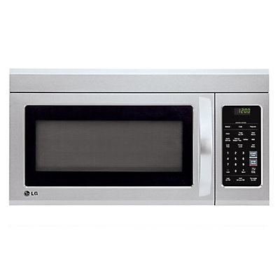 Over The Range Microwave With Easyclean Interior In Stainless Steel