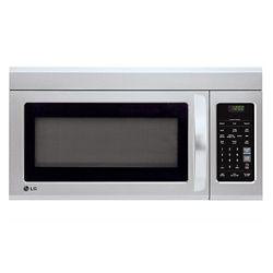 LG Electronics 1.8 cu. ft. Over-the-Range Microwave with EasyClean Interior in Stainless Steel