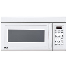 1.8 cu. ft. Over-the-Range Microwave with EasyClean Interior in White
