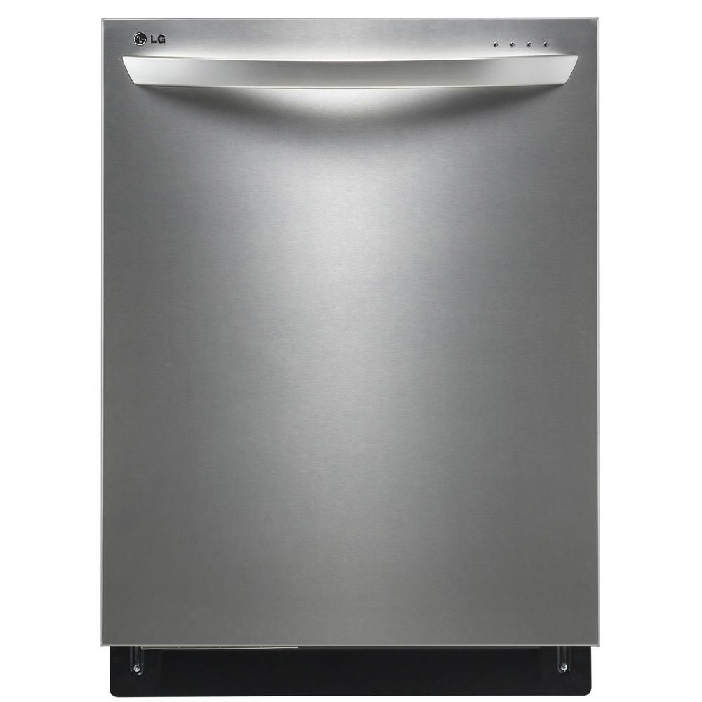 24-inch Fully Integrated Dishwasher with TrueSteam and EasyRack Plus in Stainless Steel