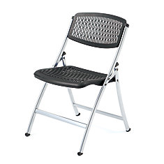 ONESERIES PRO Folding Chair- (Silver/Black)