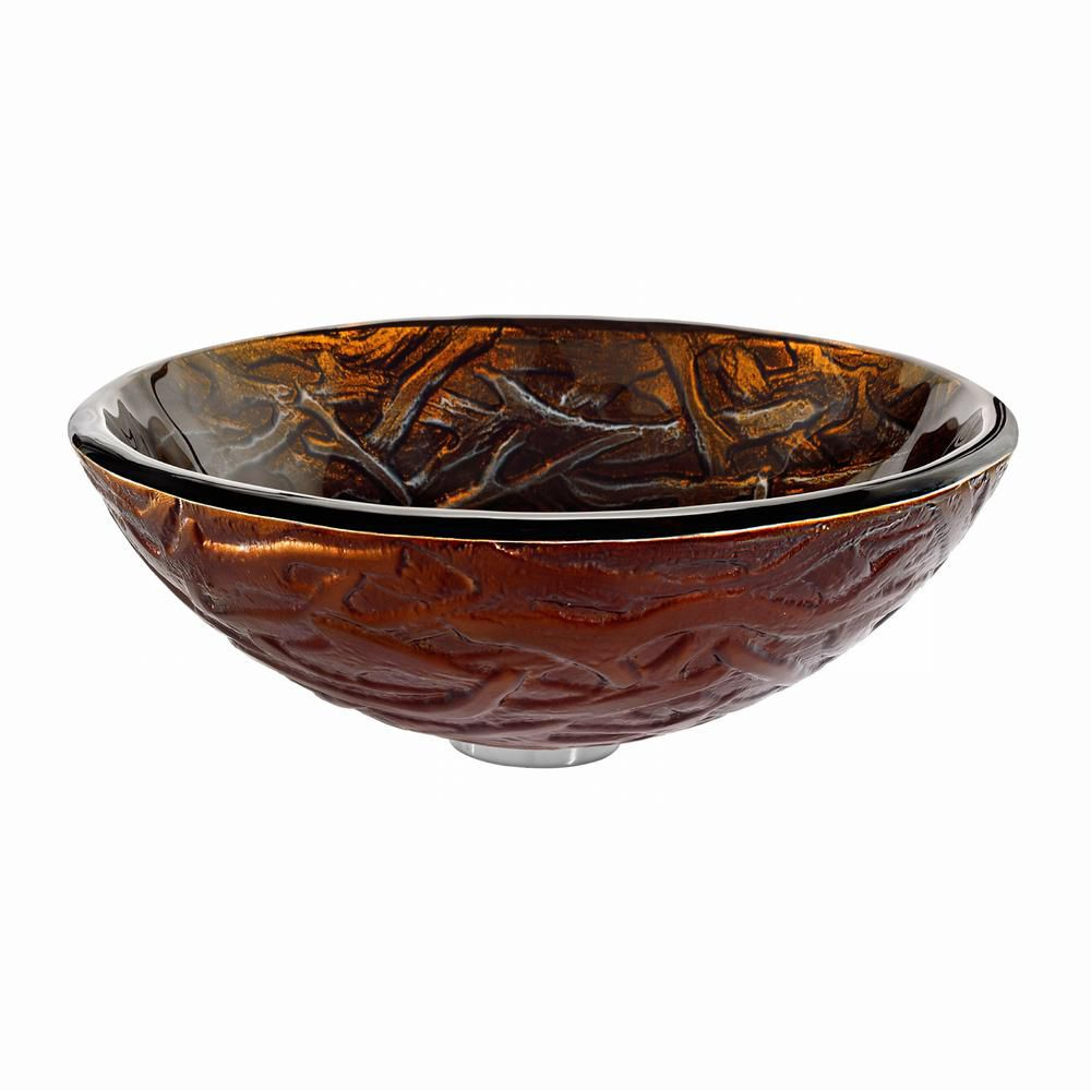 Dryad Glass Vessel Sink