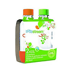 0.5L Carbonating Bottle Twin Pack (Orange/Green)