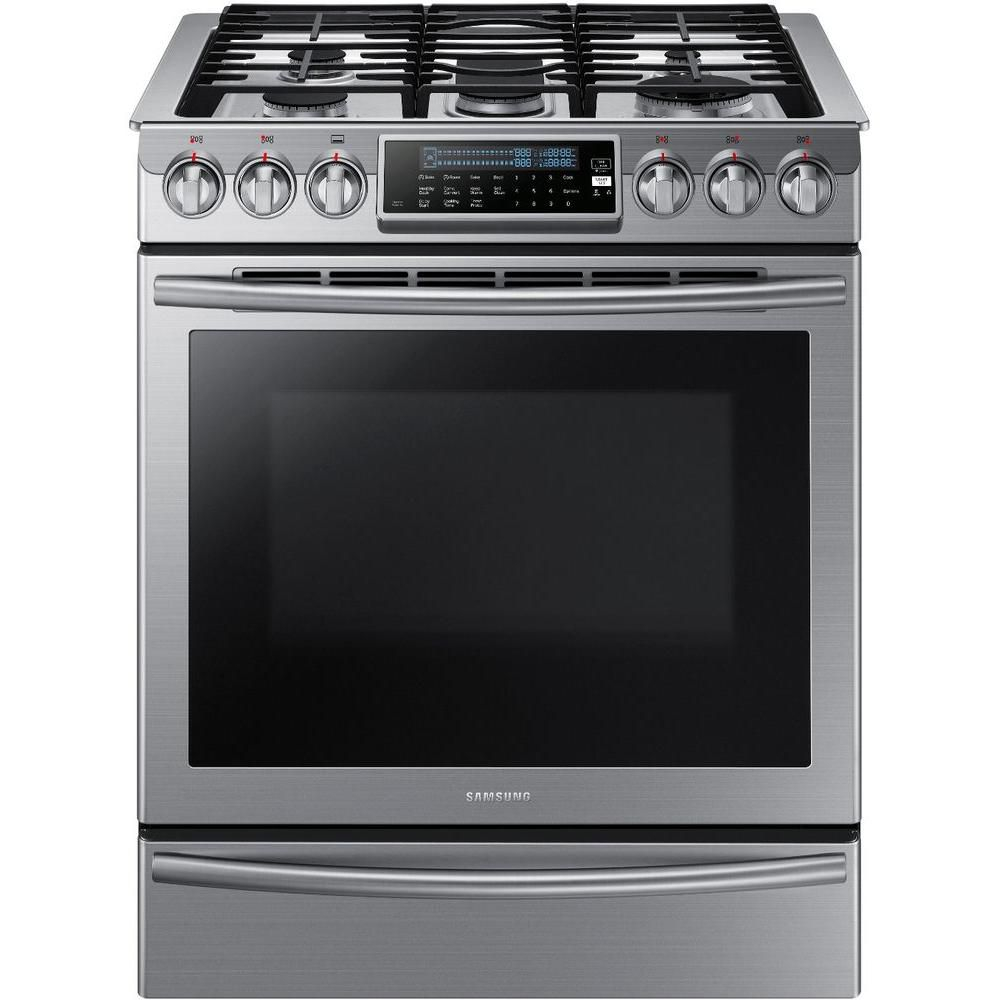 samsung cuisini re au gaz encastrable avec four convection v ritable de 5 8 pi nx58h9500ws. Black Bedroom Furniture Sets. Home Design Ideas