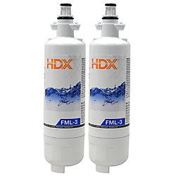HDX Filtre FML-3 remplace le filtre LG LT700P (Paquet de 2)