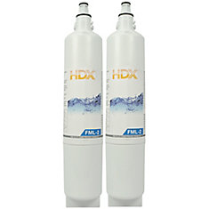 FML-2 Refrigerator Replacement Filter Fits LG LT600P (2-Pack)