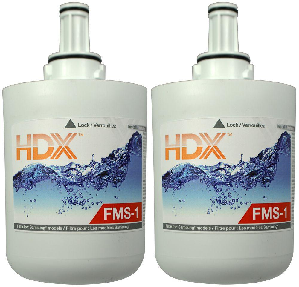 Filtre FMS-1 remplace le filtre  Samsung HAFCU1 (Paquet de 2)