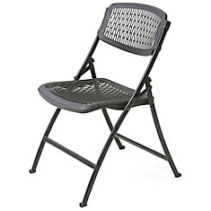 ONESERIES Lite Folding Chair- (Black/Black)