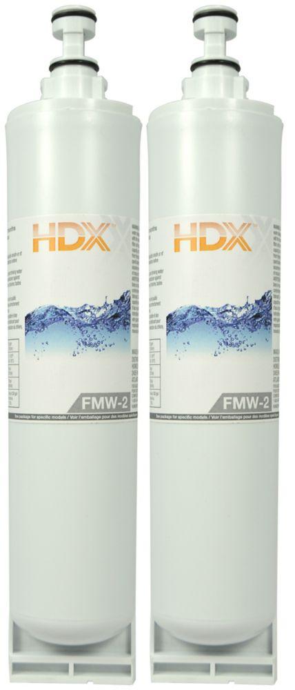 Filtre FMW-2 remplace le filtre Whirlpool Filtre 5 (Paquet de 2)