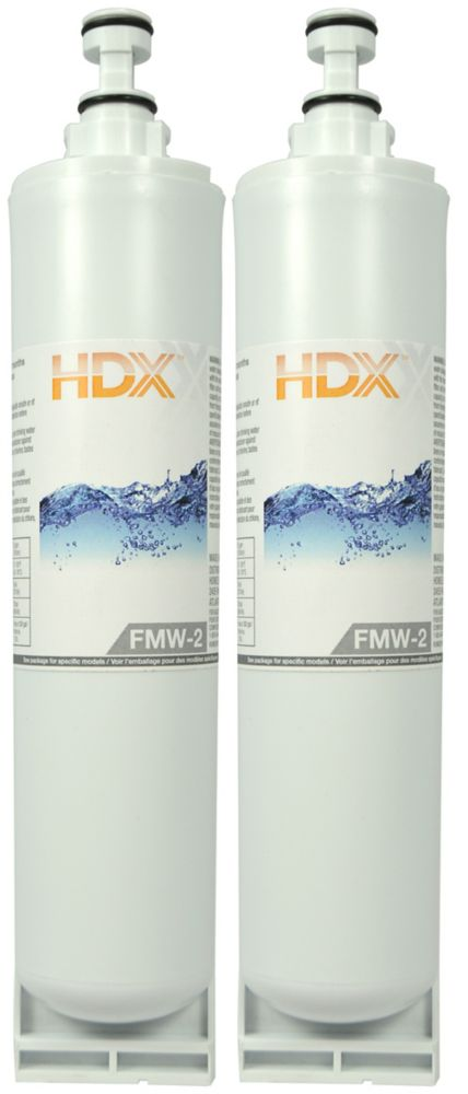 FMW-2 Refrigerator Replacement Filter Fits Whirlpool Filter 5 (2 Pack)