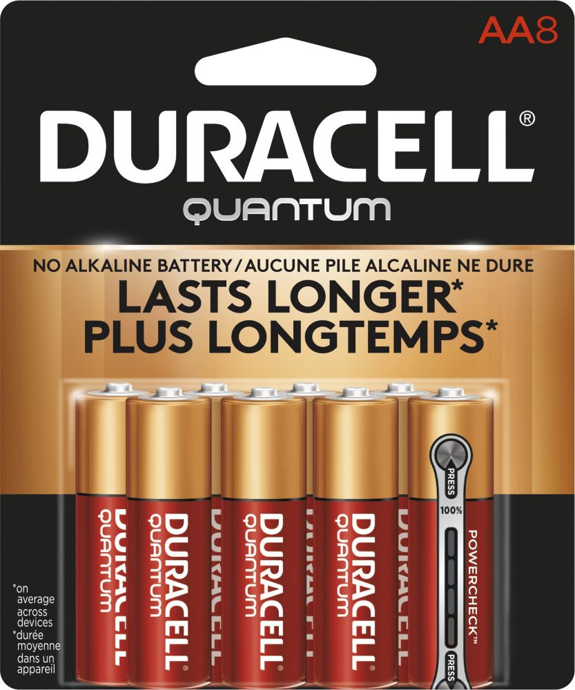 Duracell Quantum Aa8 8packs Radiance Baby Case