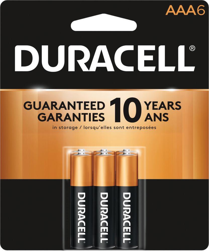 Duracell Ctop Alkaline Aaa-6 Duralock