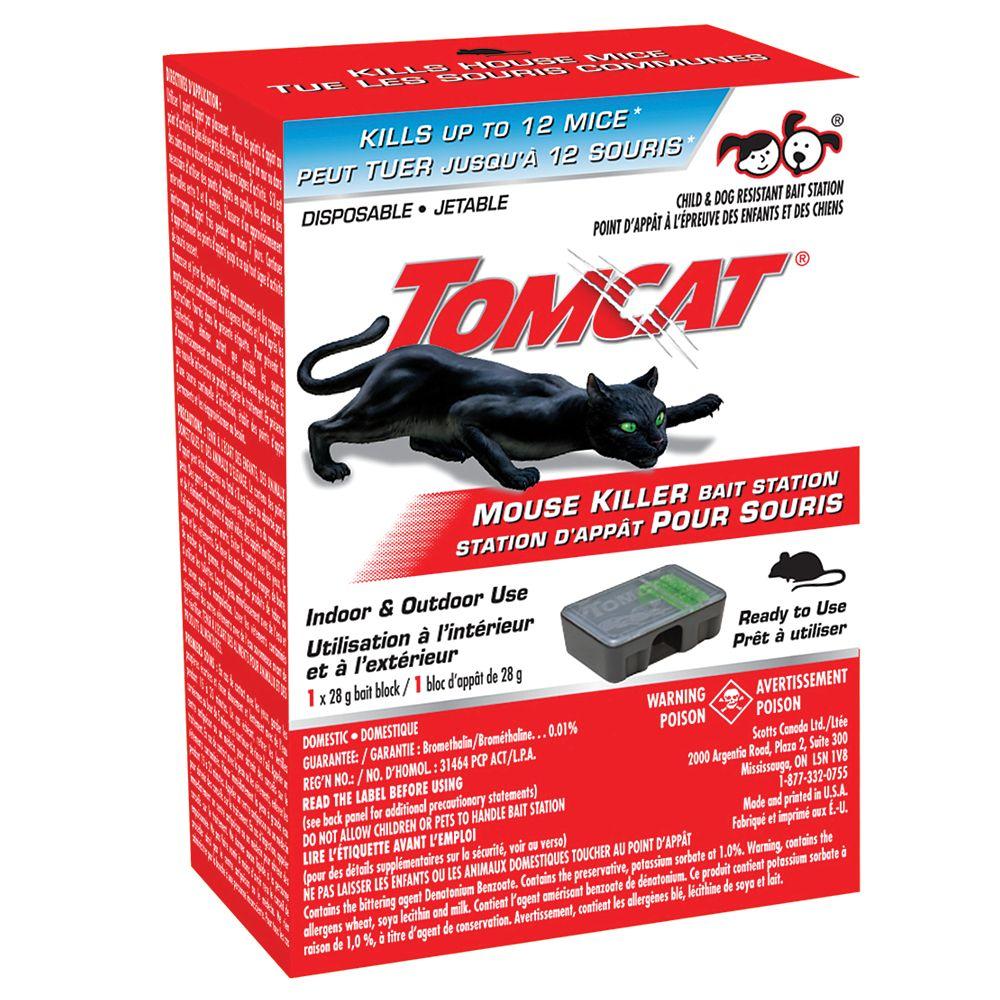 Tom Cat Tomcat Mouse Killer Disposable Bait Station