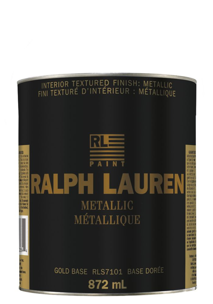 Ralph Lauren- Specialty Finish- Metallic- Gold Base- Quart