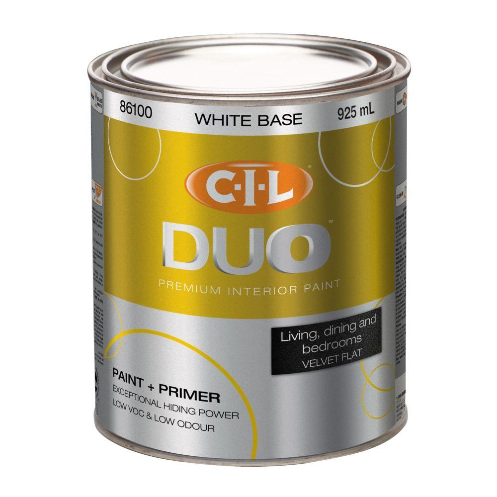 CIL Duo CIL DUO Interior Velvet Flat White 917ML
