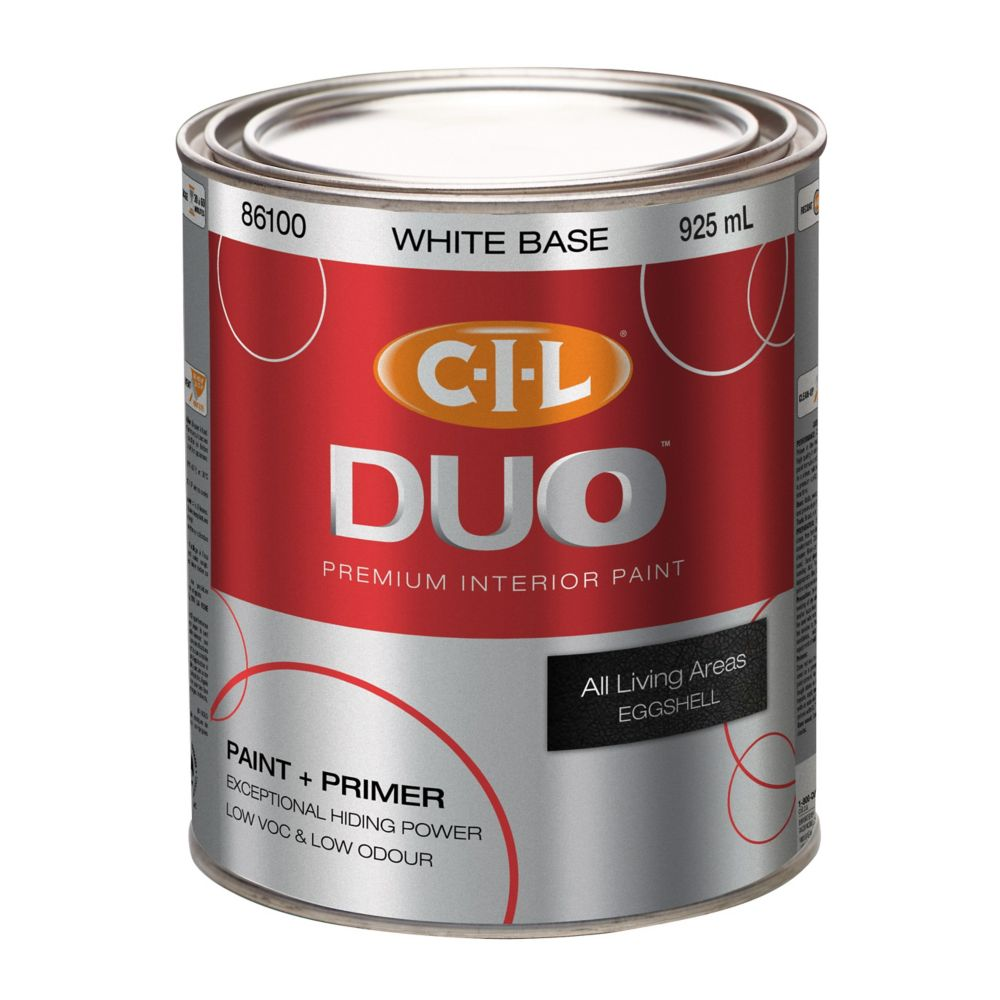 CIL DUO FINI  COQUILLE D'OEUF BLANCHE 917ML