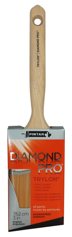 Pintar Diamond Pro Angular Sash Brush - 3 Inch (75mm)