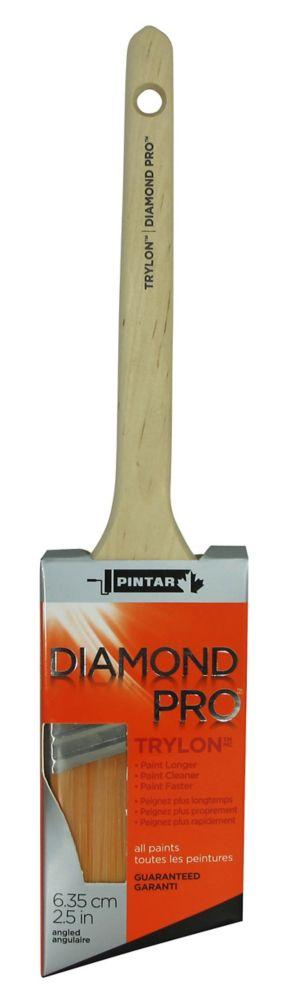 Diamond Pro Thin Angular Sash Brush - 2-1/2 Inch (63mm)