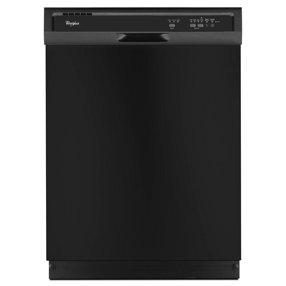 24-inch Dishwasher with AccuSense Soil Sensor in Black