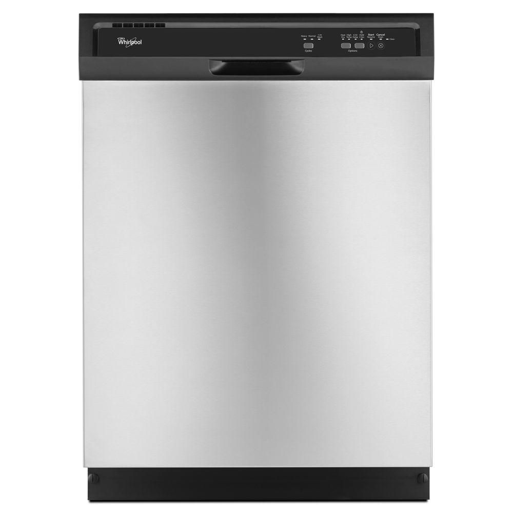 24-inch Dishwasher with AccuSense Soil Sensor in Stainless Steel