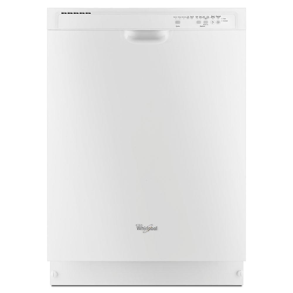 Front Control Dishwasher in White with Plastic Tub, 53 dBA - ENERGY STAR®