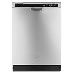 Lave-vaisselle à commande frontale en acier inoxydable avec cuve en plastique, 53 dBA - ENERGY STAR