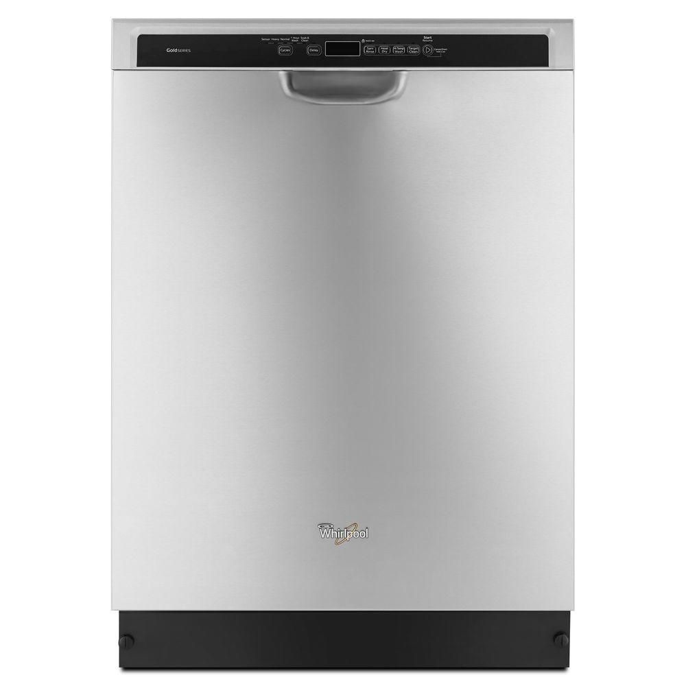 Gold 24-inch Dishwasher with TargetClean Option in Stainless Steel