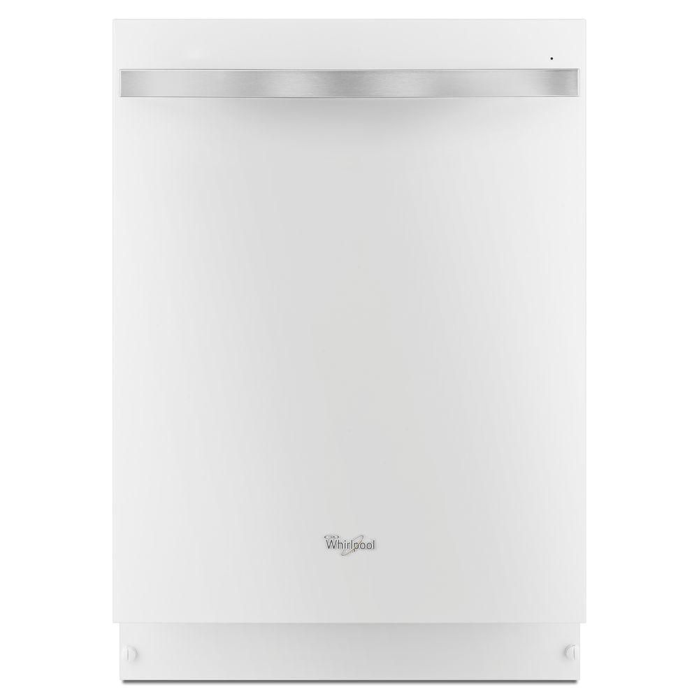 Gold 24-inch Dishwasher with TotalCoverage Spray Arm in White