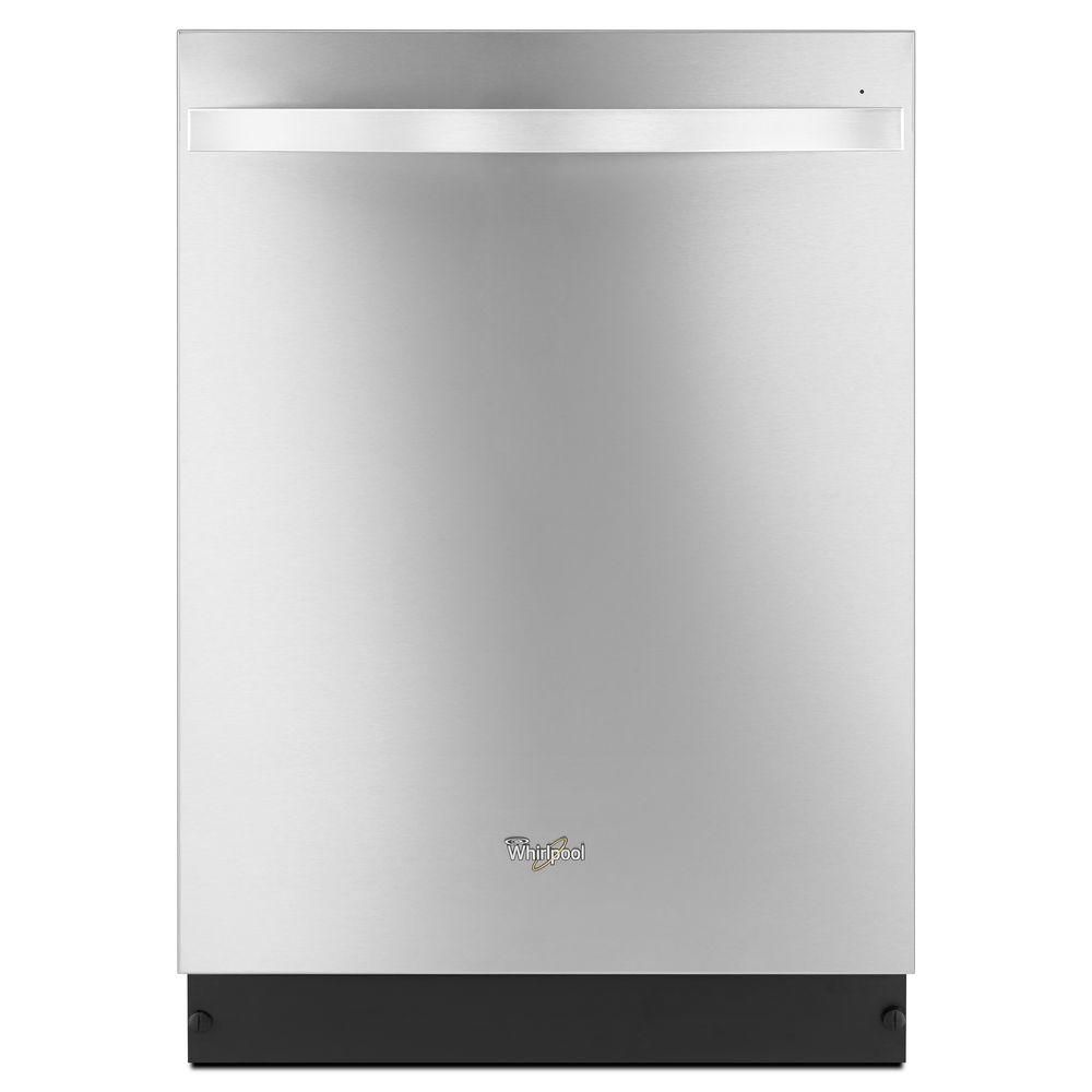 Gold 24-inch Dishwasher with TotalCoverage Spray Arm in Stainless Steel