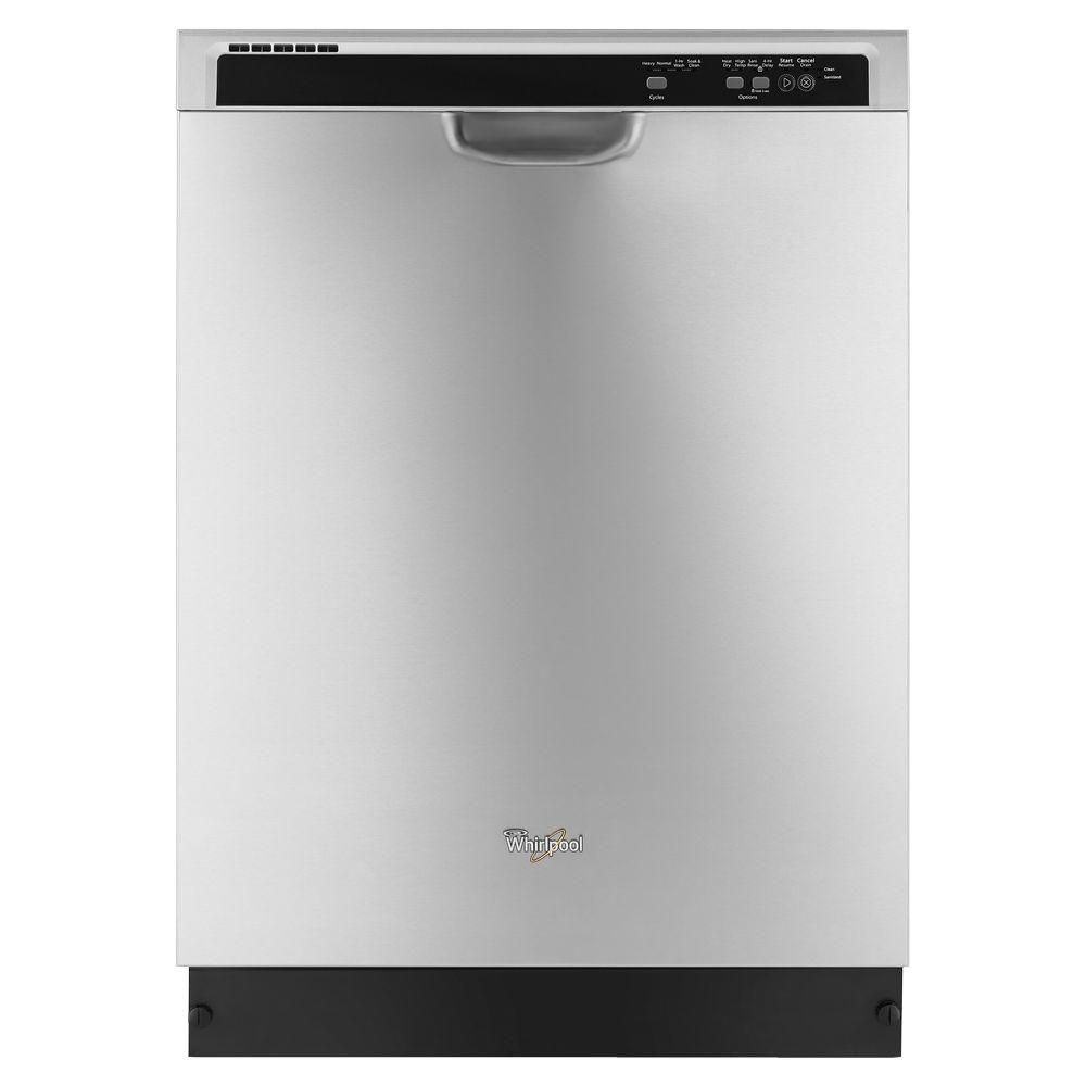 24-inch Dishwasher with AnyWare Plus Silverware Basket in Stainless Steel