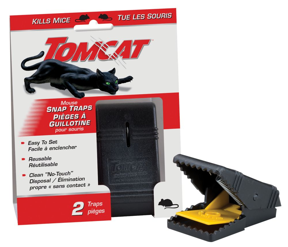 Tomcat Mouse Snap Trap
