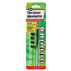 Manomètre-crayon avec bouchons 20 à 120 lb/po2 Slime