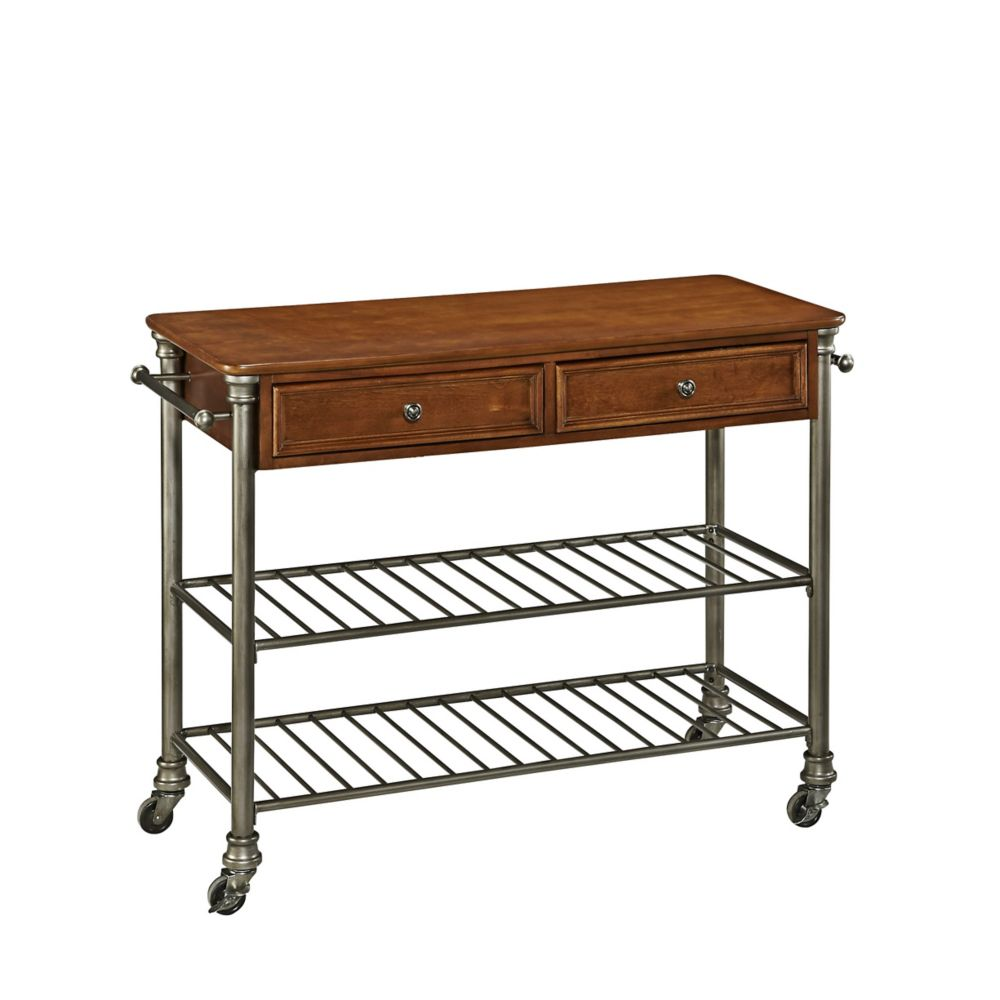 Home Styles The Orleans Kitchen Cart The Home Depot Canada